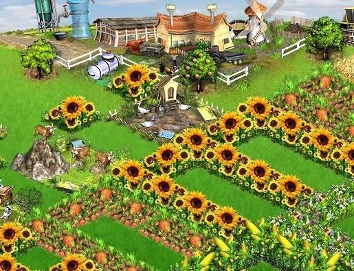Farmerama Browser game PC