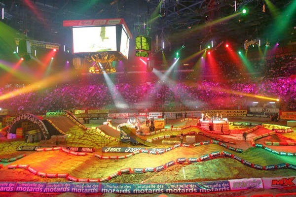 Circuit Bercy Paris Supercross