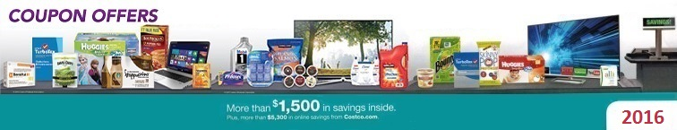 Download the Current December 2016 Costco Coupon Book for deals and extra savings