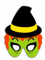 http://manualidadesparaninos.biz/caretas-y-mascaras-de-bruja/