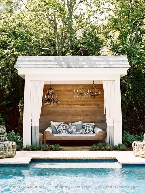 Tuesday Inspiration Pool Houses Caba As And Pavilions