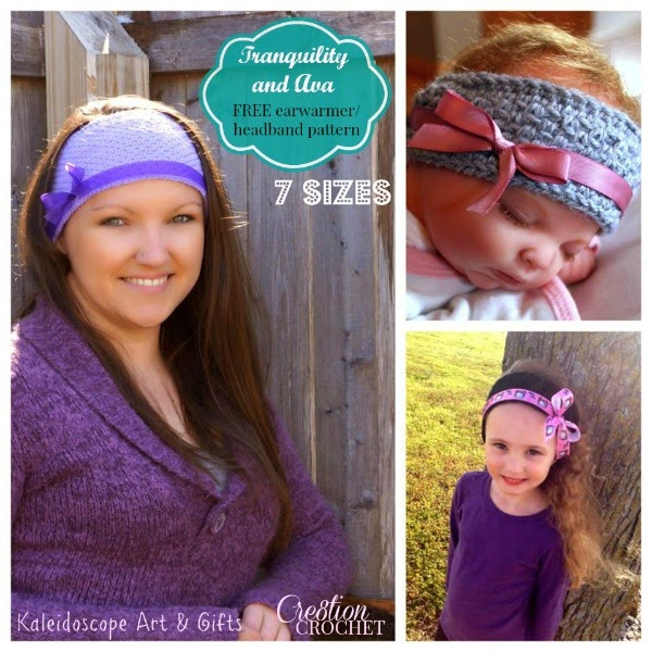 free crochet pattern earwarmer