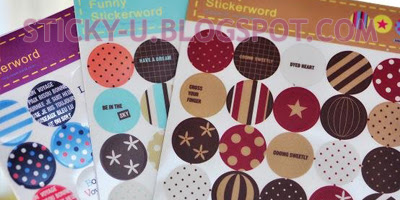 009: Olivia's Funky Circle Sticker