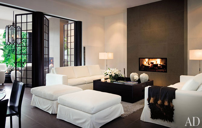 Interior Designs With Fireplaces