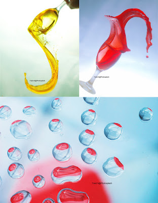 cara memotret tetesan air, foto splash, foto droplets