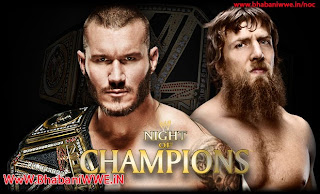 Night Of Champions 2013 » Randy Orton vs Daniel Bryan (WWE Championship Match)