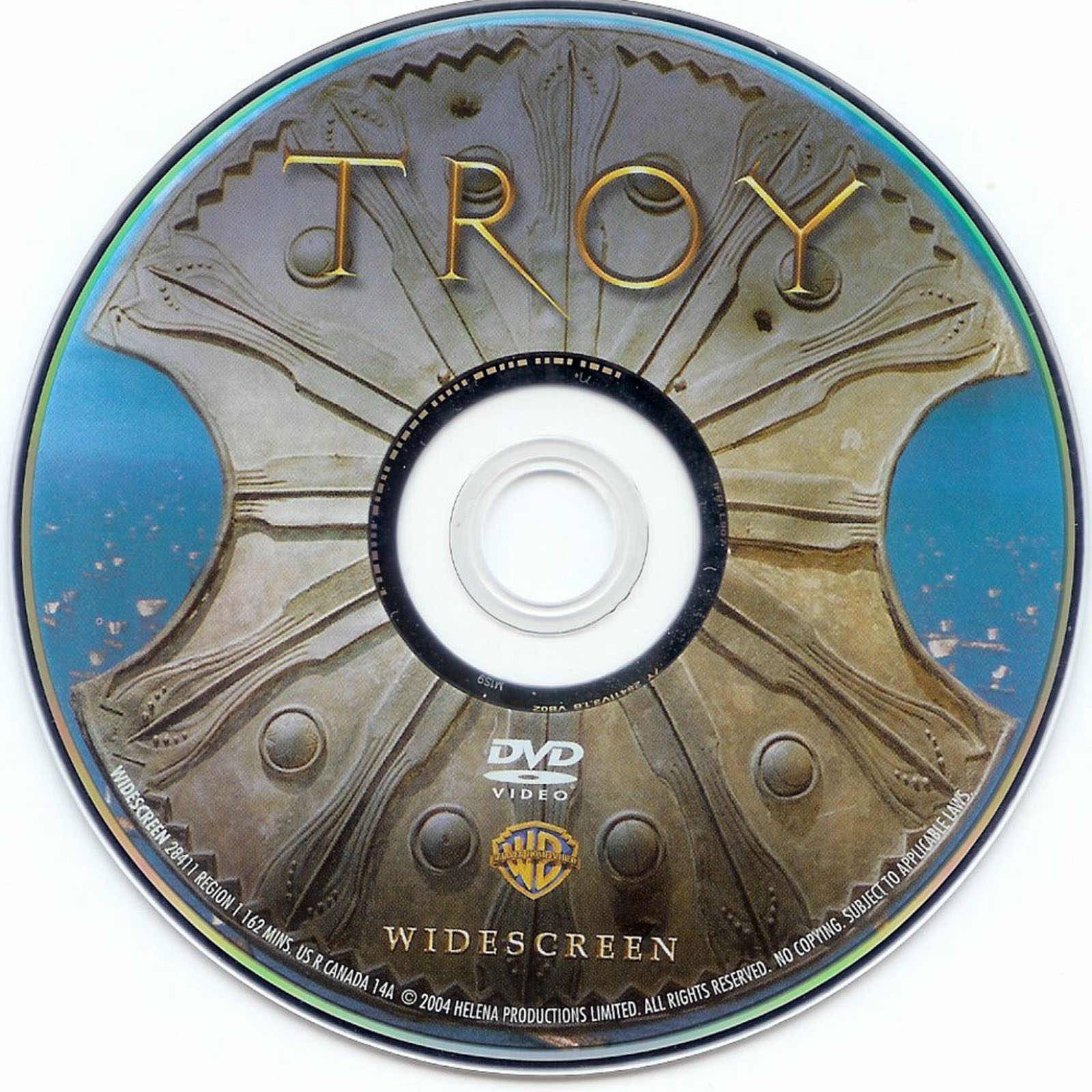 Troy Dvd Label