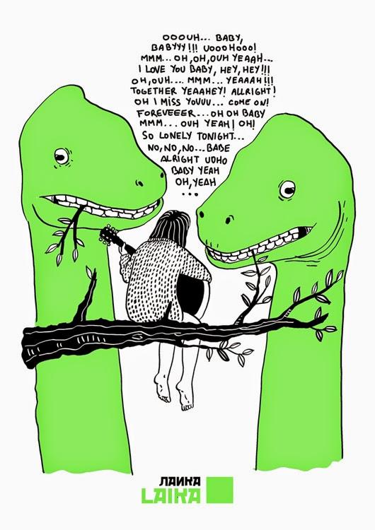 Los dinosaurios no necesitan entender