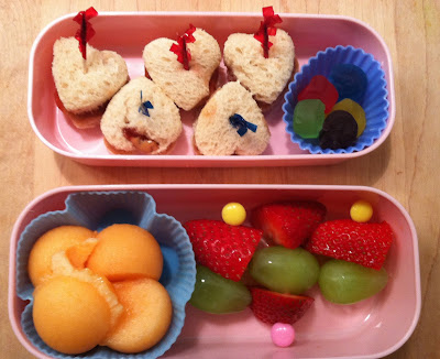 Bento Style Lunches