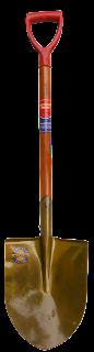sekop megumi standart kayu