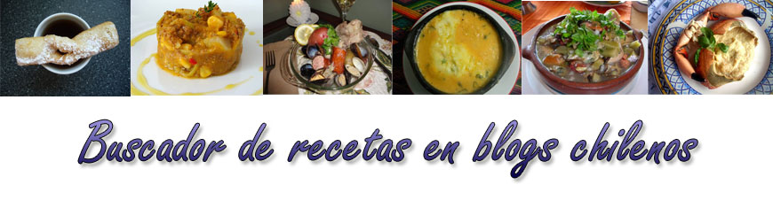 Buscador de recetas en blogs chilenos