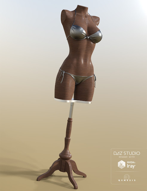 Mannequin for Genesis 3 Female