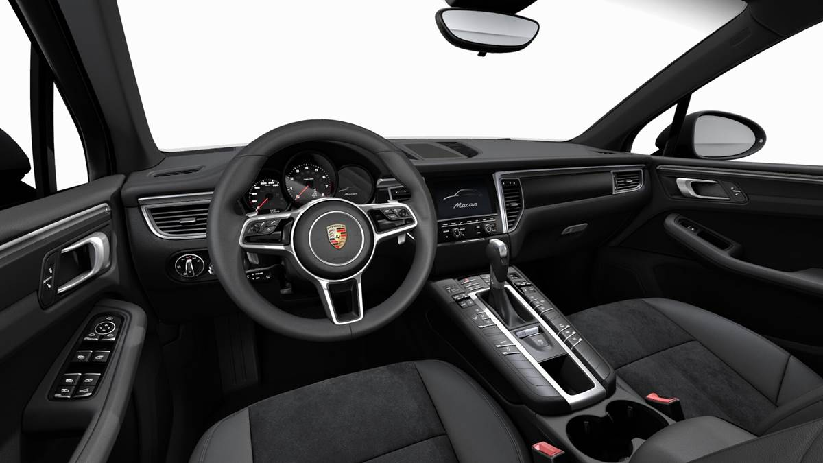 Porsche Macan 2.0 Turbo - interior