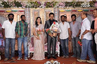 Karthi Wedding Reception Photos show stills