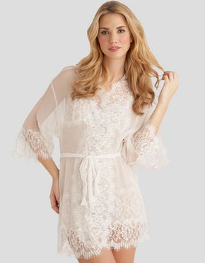 10 more bridal lingerie options for your wedding day mary green crushed silk kimono junglespirit Gallery