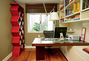 Estanterías en las oficinas reducidas