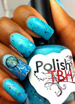 Lacquer Lockdown - PolishTBH, PolishTBH Anniversary Collection, indie nail polish, thermal nail polish, glitter nail polish, stamping, nail art, dashica paltes, easy nail art, simple nail art, thernal nail polish, transition nail polish, PolishTBH swatches