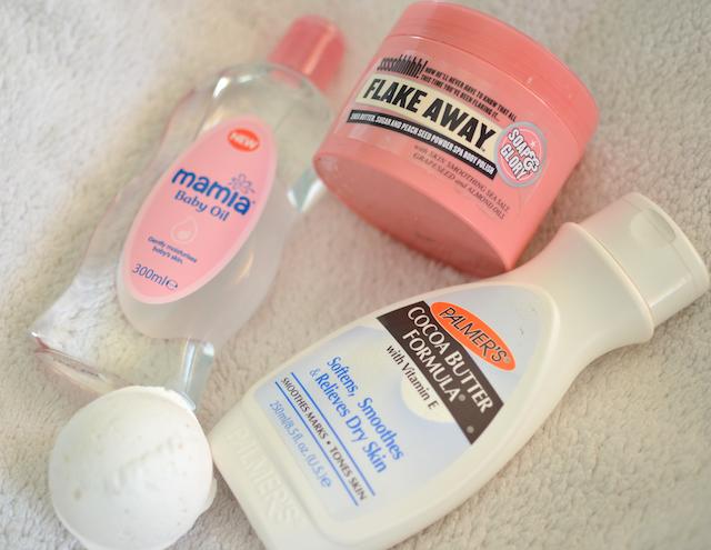 Plamers Cocoa butter aldi baby oil soap and glory winter skin