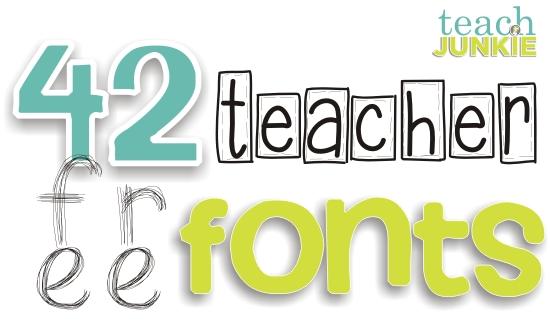Teach Junkie - A Teacher Feature Loaded With Freebies