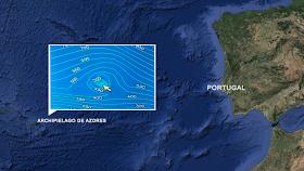 Archipi lago Azores - Pirámide submarina encontrada cerca de las Islas Azores asociada con la Atlántida