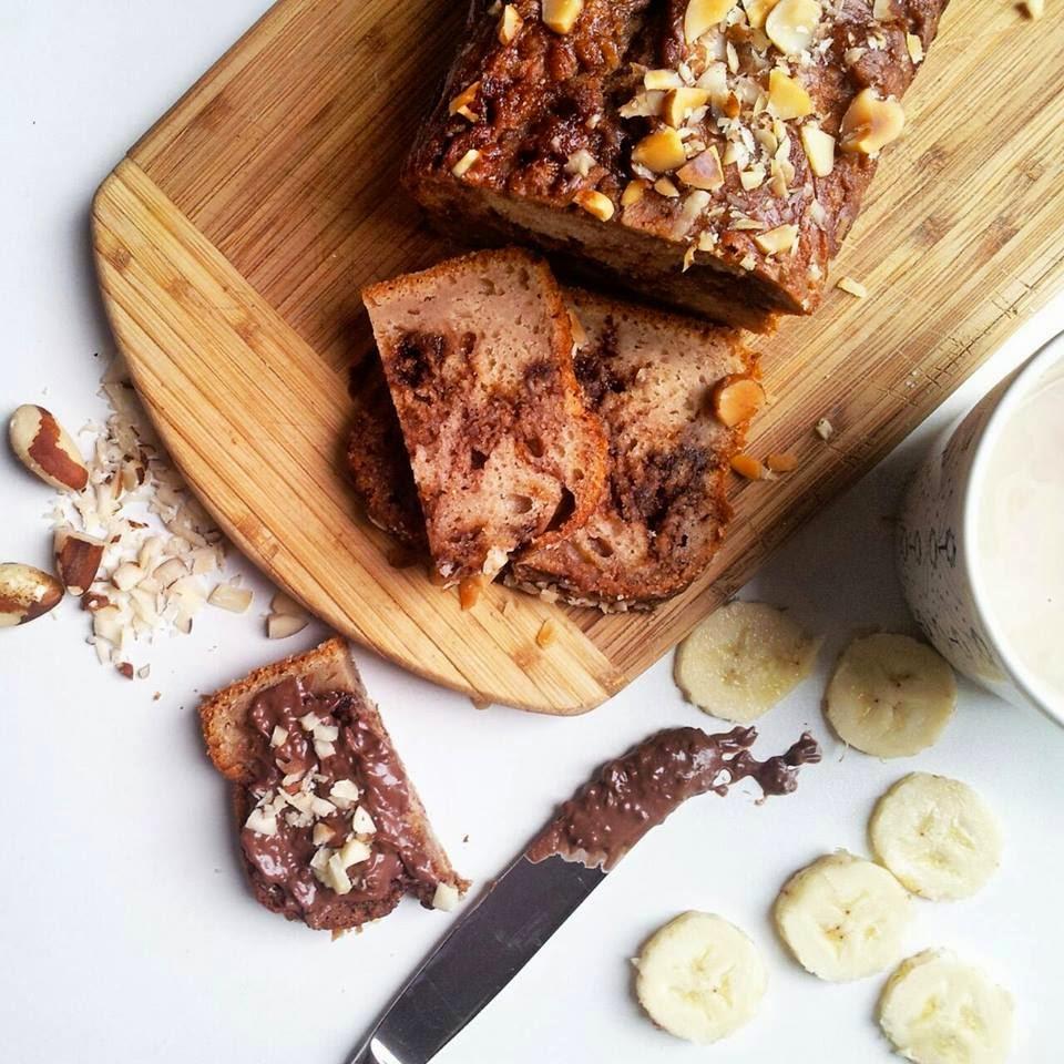 Slatki kruh sa bananama i nutellom