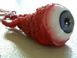 Premium Ripped Out Eyeball Movie Quality Prop