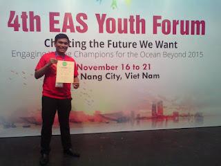 APMI Menjadi Delegasi Indonesia dalam 4th EAS Youth Forum di Da Nang, Viet Nam