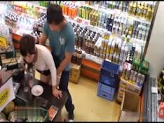 Em gái bị địt trong siêu thị