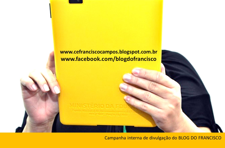 http://cefranciscocampos.blogspot.com.br/