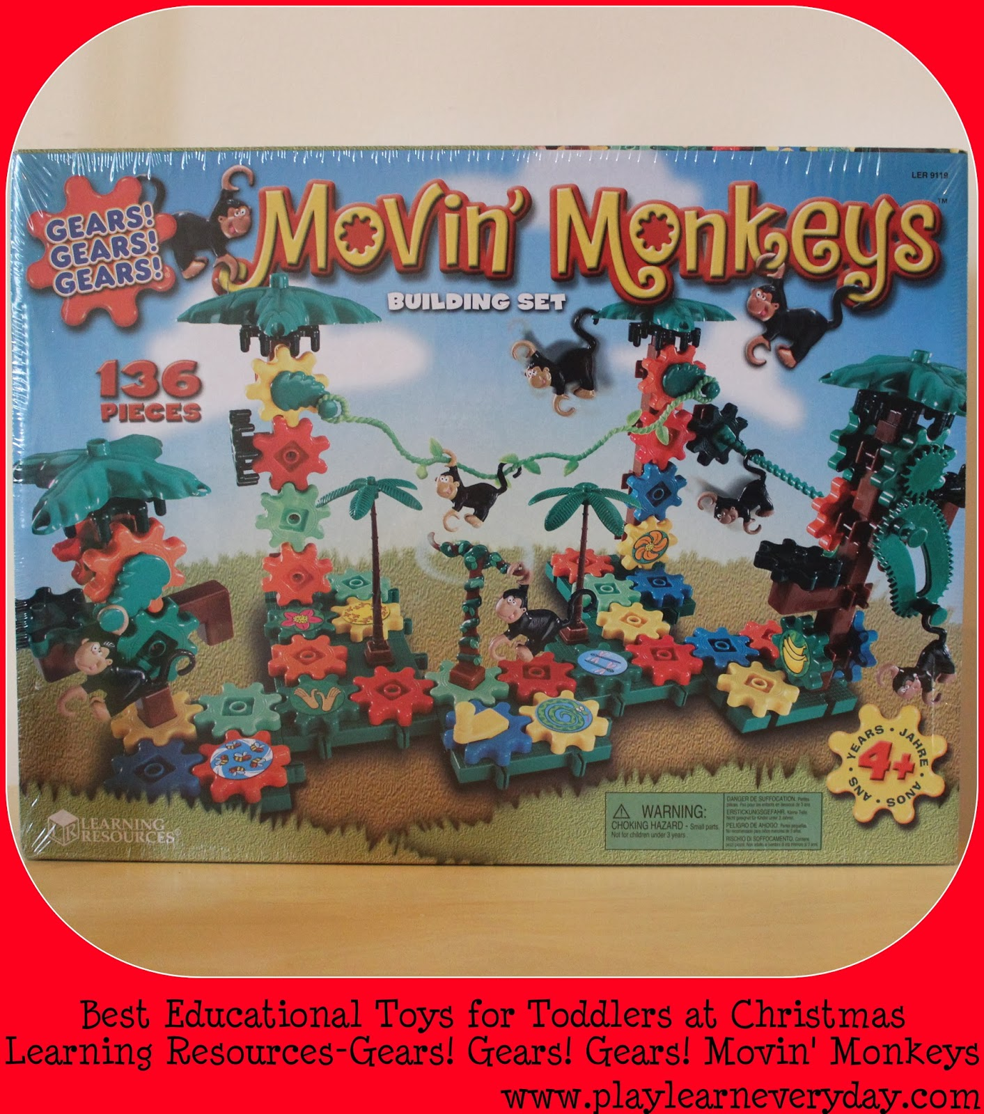 Top Learning Resources Toys : Learning resources gears movin monkeys