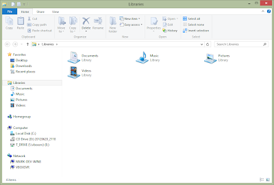 Windows 8 - Explorer
