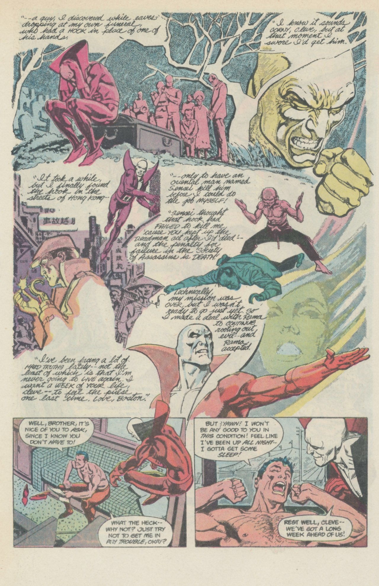 Deadman (1986) #1 #4 - English 19