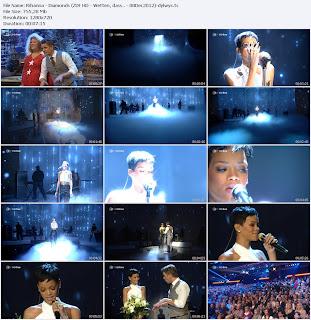 Rihanna - Diamonds (ZDF HD - Wetten, dass.. 2012-12-08) HDTV 720p Free Download Watch Online