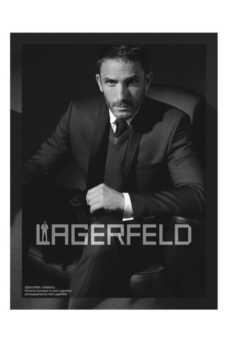 Sébastien Jondeau in Lagerfeld Fall 2013 Campaign