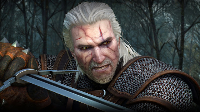 Gerald is a witcher