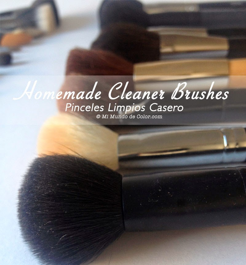 how to clean your makeup brushes