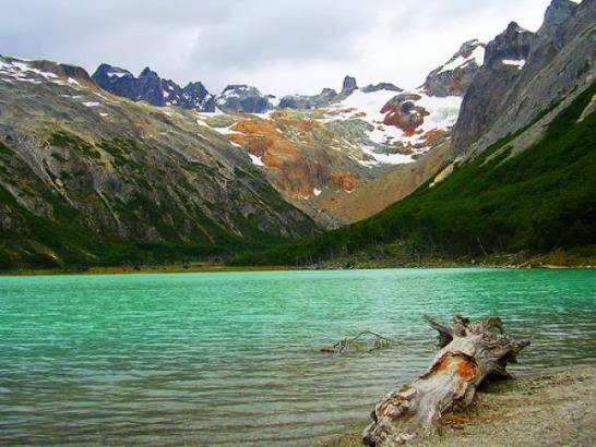 La Laguna Esmeralda Ushuaia Argentina