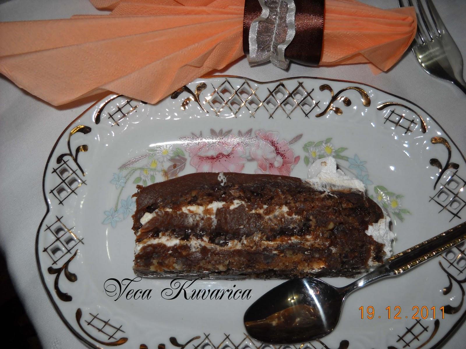 Kuvarica Veca Posna Grilija Torta