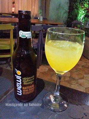 Utopia Resto-Bar: Refrigerante Orgânico Wewi sabor Laranja