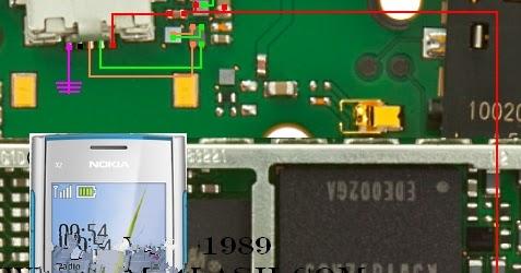 Nokia X2 00 Usb Solution Jumper