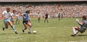 Argentina 2x1 Inglaterra - 1986