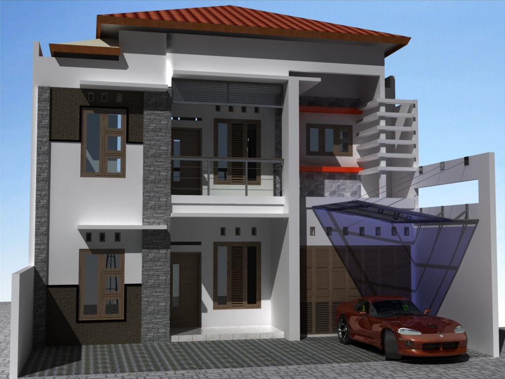 small modern apartment exterior design