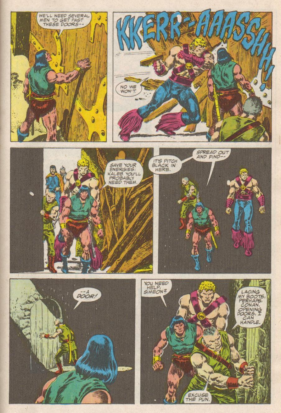Conan the Barbarian (1970) Issue #190 #202 - English 16
