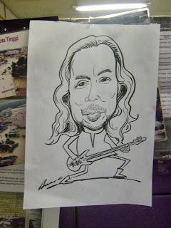 Datuk Ramli Sarip karikatur Bukan Kerana Nama