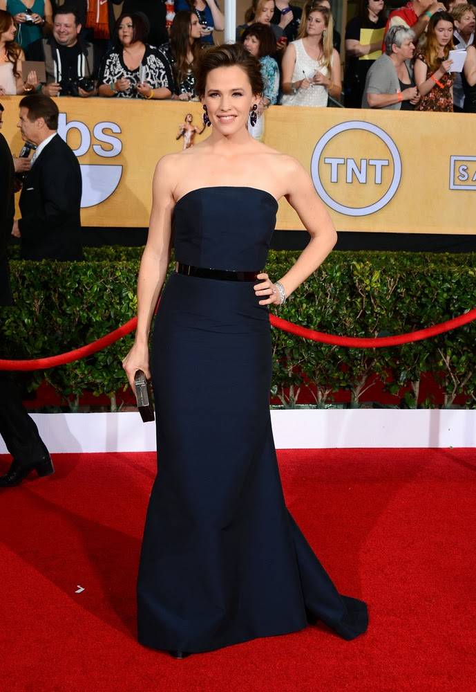 Jennifer Garner in MAX MARA at the SAG awards