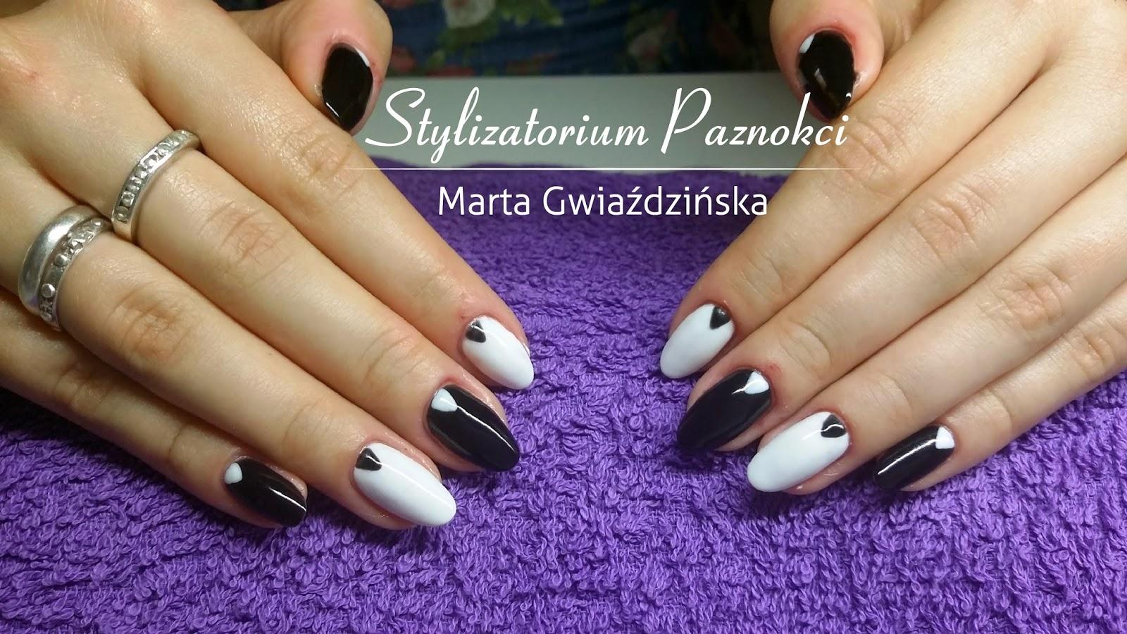 Salon Stylizatorium Paznokci Marta Gwiaździńska We Wrocławiu Biało