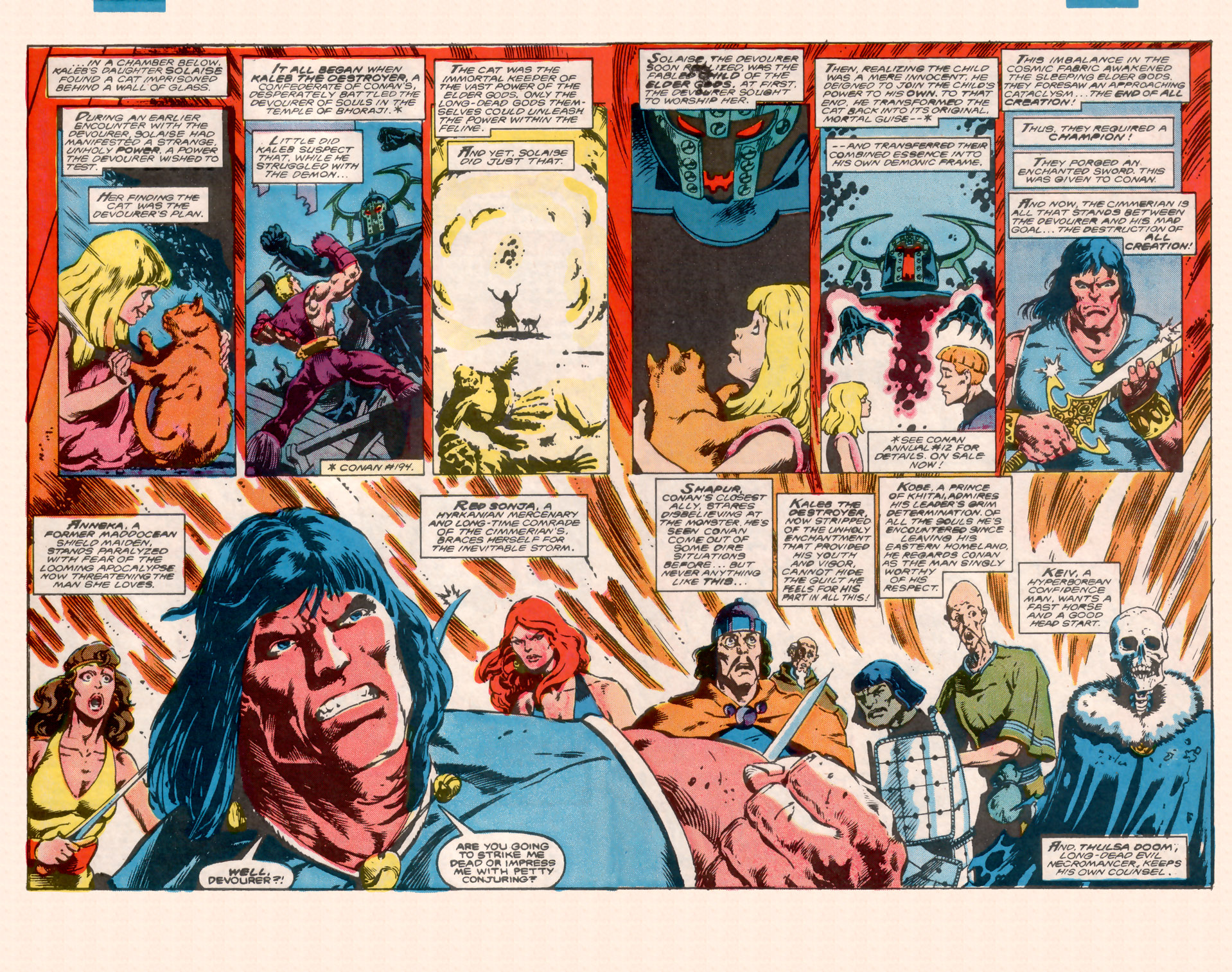 Conan the Barbarian (1970) Issue #200 #212 - English 3