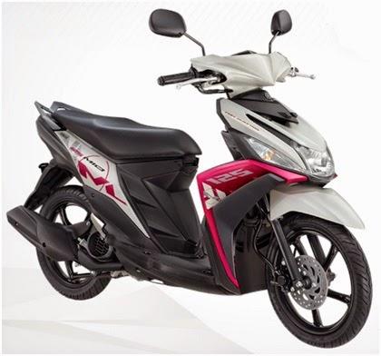 Persaingan Sengit 5 Motor Matic Terbaru 2015 Yamaha Mio M3 125 Bluecore