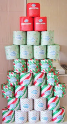 Christmas Tree of Christmas Toilet Paper