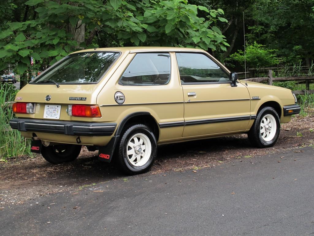 Subaru Leone, GL, hatchback, stary japoński samochód, nostalgic, retro, oldschool, スバル, クラシックカー